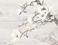 Долориан декор-панно серый InterCerama