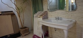 VIP зал элитной керамической плитки Керамика Эрмитаж фото 2