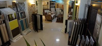 VIP зал элитной керамической плитки Керамика Эрмитаж